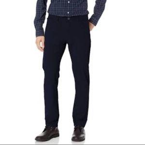 Dockers Men's 360 Slim Fit Tech 31x30 Black